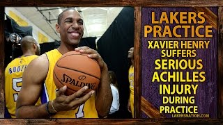 BREAKING: Lakers Xavier Henry Suffered Serious Achilles Injury