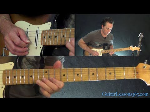 Pink Floyd - Shine On You Crazy Diamond Guitar Lesson (Part 1)