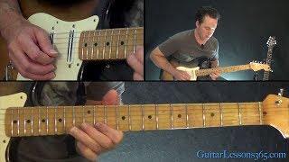 Shine On You Crazy Diamond Guitar Lesson (Part 1) - Pink Floyd