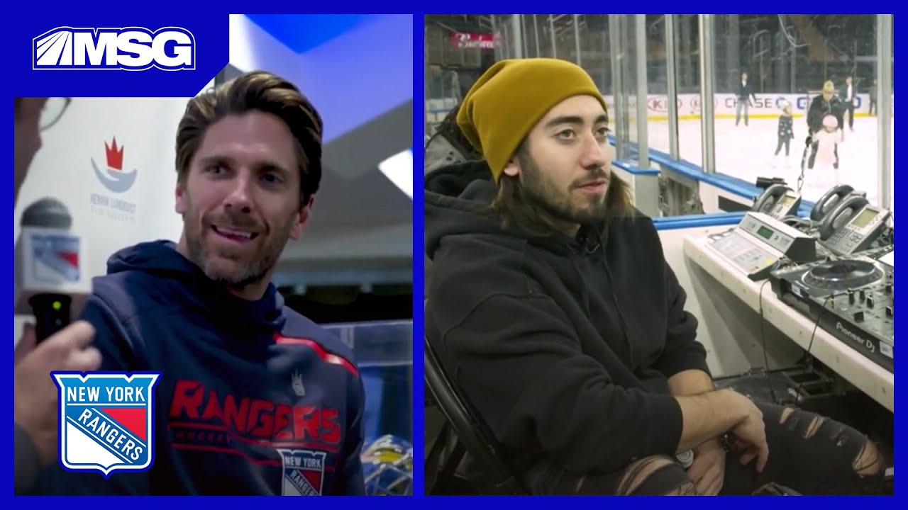 Fans Get Up Close And Personal With Henrik Lundqvist New York