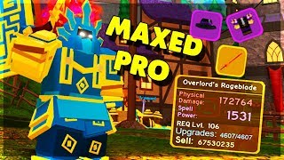 MAXED OUT CANAL *PRO* CARRIES PEOPLE IN DUNGEON! (ROBLOX DUNGEON QUEST)