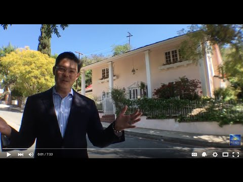 Virtual showing tour of 1240 North Norman Place - Brentwood - LA -Home For Sale
