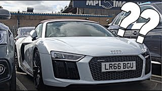 TEMPTED to BUY an Audi R8 Spyder!!?