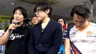 【獣道】ウメハラ vs ときど 試合後コメント&ときどの涙 ときど 検索動画 3