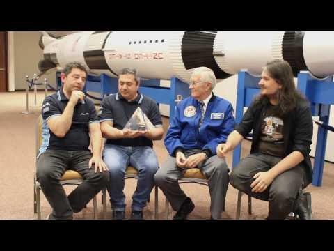 Intervista a Charlie Duke (Apollo16) con Dario Kubler e Luigi Pizzimenti (ADAA) | Astrolive 31