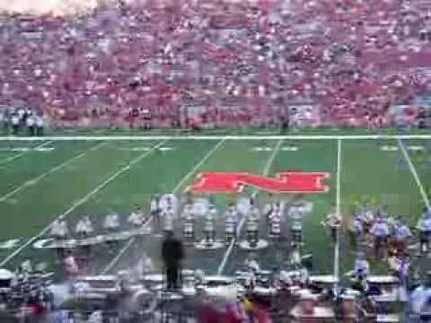 University of Nebraska Drum Corps Pre Game Show, Aug 31, 2013
