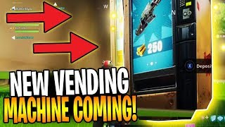 New Leaked Vending Machine Coming To Fortnite Battle Royale!