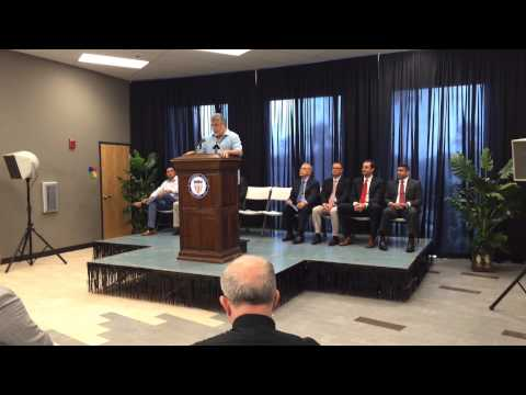 Edinburg Sports & Wellness Center: Mayor Richard Garcia