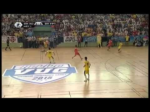Chung kết giải bóng đá futsal sinh viên VUG 2015   Đại học FPT vs Đại học Xây Dựng