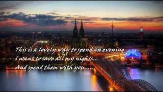 JOHNNY MATHIS - A LOVELY WAY TO SPEND AN EVENING