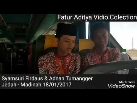 tetbaruuu!!! video duet Qori Syamsuri firdaus Dan Qori Adnan Tumangger Menuju Jeddah