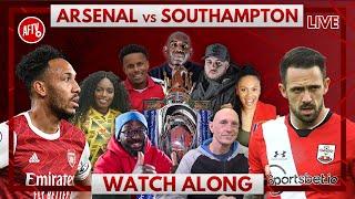 Arsenal vs Southampton | Watch Along Live