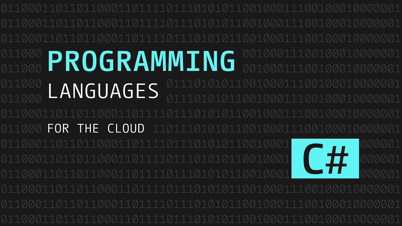 Programming Languages for the Cloud: C#