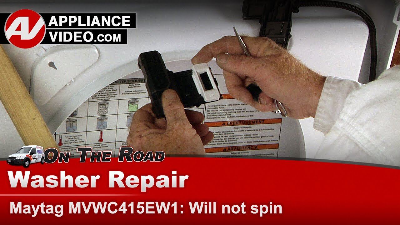 Maytag Whirlpool Kenmore Washer Will Not Go Into Spin Cycle 5800 Wiring Diagram Diagnostic Repair