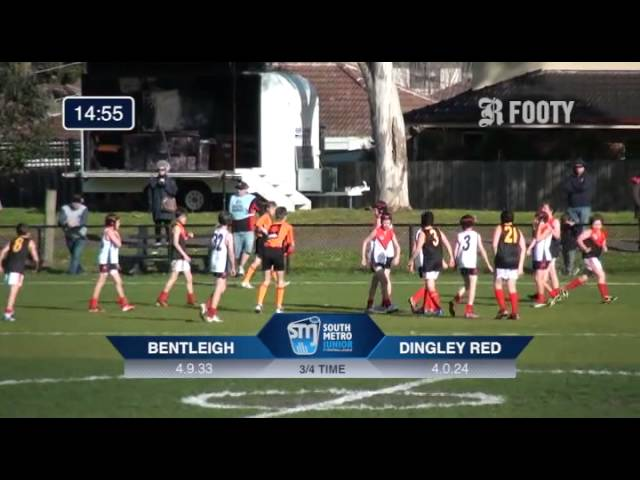2013 SMJFL Grand Final Under 12 Blue - Bentleigh V Dingley Red