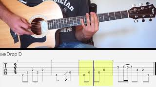 Nickelback - The Betrayal Act III Guitar Lesson W/ TAB