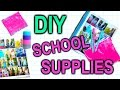DIY School Supplies for Back To School: Notebooks & Pencil Case!