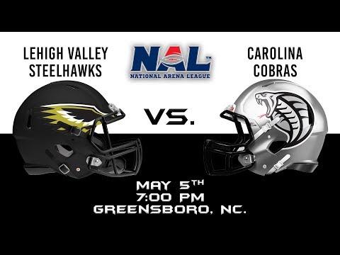 Lehigh Valley Steelhawks vs Carolina Cobras