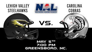 Lehigh Valley Steelhawks vs Carolina Cobras thumbnail