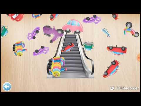 Escalator puzzle