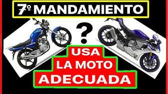 Imagen del video: 7º mandamiento del motero: Comprarás la moto adecuada