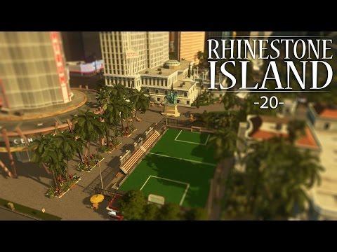 "Cities Skylines - Rhinestone Island [PART 20] ""Casino Amenities, Outdoor Leisure, and More!"""