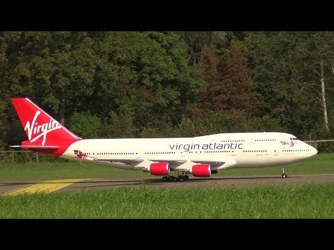 Boeing 747-400 GIGANTIC RC TURBINE MODEL JUMBO Hausen Flight Day 2016