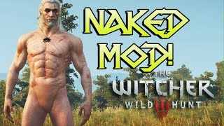 The Witcher 3 Naked Ciri Playable Mod Gameplay HD