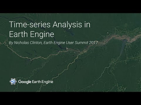Time Series Analysis in Earth Engine