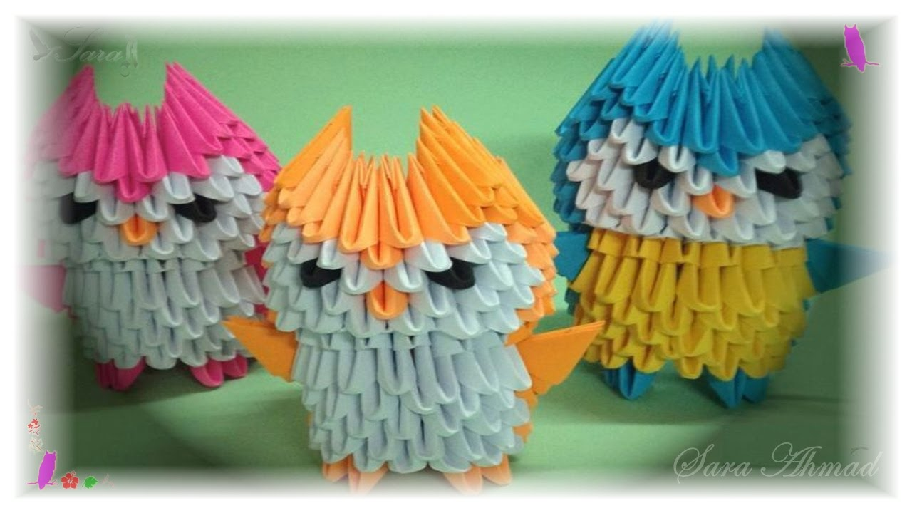 How To Make 3d Origami