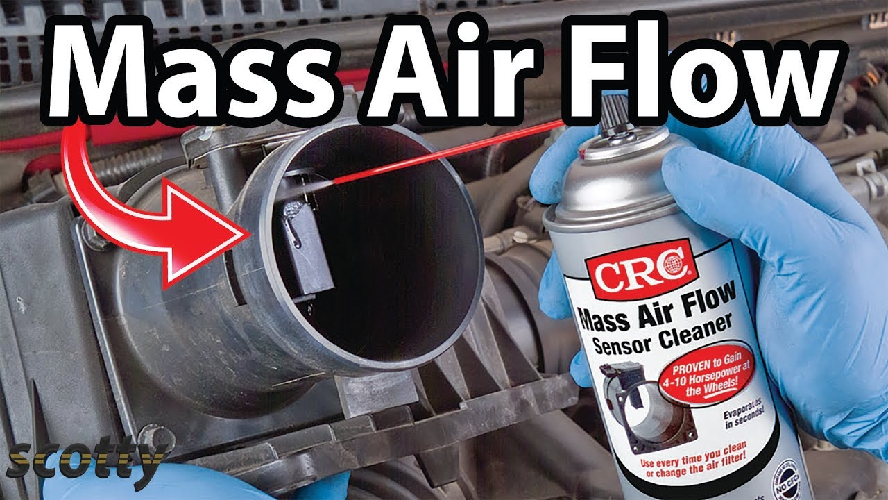 how to clean mass air flow sensor  [ 1280 x 720 Pixel ]