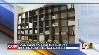 People Push To Save Ikea Shelves