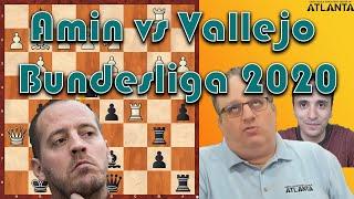 Current Events: Amin vs Vallejo Bundesliga (2020)