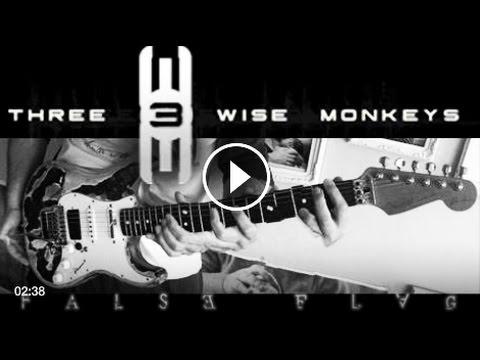 F̴AL̶SE͜ F͡L̡A̵G music video by the Three Wise Monkeys