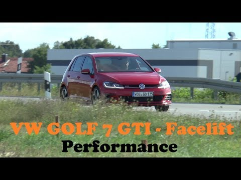 VW GOLF 7 GTI Performance - 245hp - TEST/REVIEW
