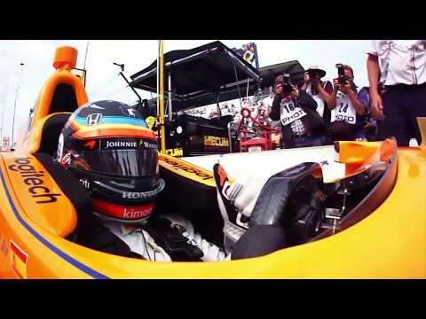 Fernando Alonso - On board Qualifying- Indy 500 2017