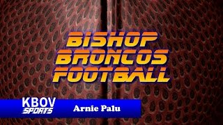 Bishop, California Broncos Football - KBOV radio Broadcast