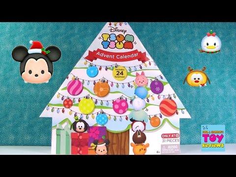 Disney Tsum Tsum Target Exclusive Advent Calendar Figure Countdown Christmas Toy Review   PSToyRevie