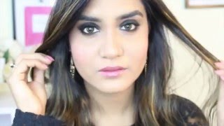 black smokey eyes tutorial for beginners  night out party loook