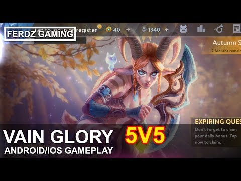 Vain Glory 5v5 MOBA [ANDROID/IOS] Gameplay