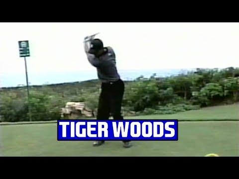 Tiger Woods Swings at 2002 PGA Grand Slam
