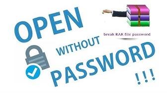 How to open password protected RAR files |Monmohan Techify |