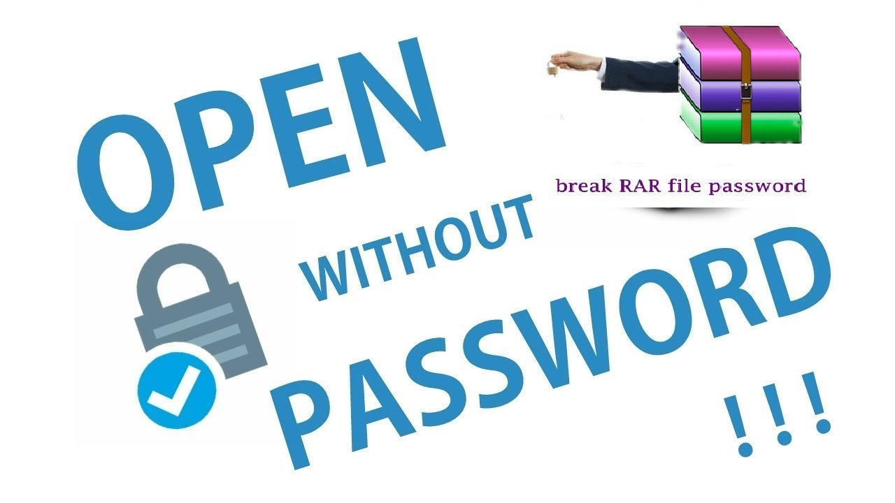 How to encrypt rar files without password | how to remove encrypted
