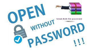 How to open RAR files without password ( Without any software ) |Stark Tech TM MC|