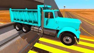 огромный Белаз и Машины помощники - Новые Тесты| Игровой мультик