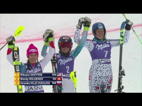 Mikaela Shiffrin - 2016 Slalom Return