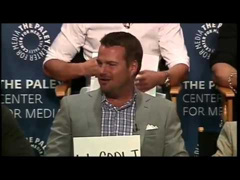 Funny Scenes from NCIS: Los Angeles Cast Interview at Paleyfest 2015