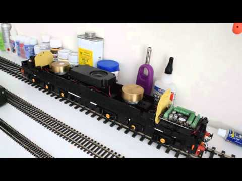 Heljan O gauge class 40 fitted with SWD sound