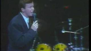 Rick Astley - Whenever You Need Somebody (LIVE 1987)