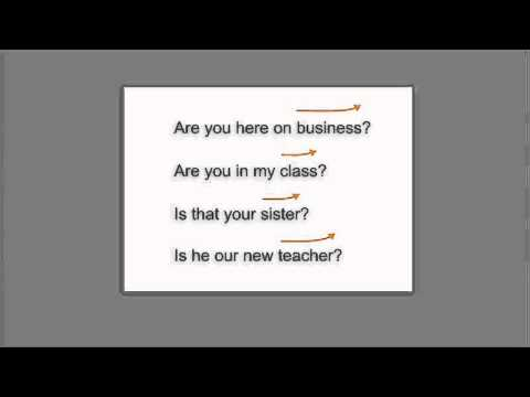 Top Notch 3E Level 1 Pronunciation Coach Video - Intonation of Questions